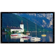"Elite Screens® DIY Pro 236"" DynaWhite Outdoor Projector Screen, 16:9, Black Casing"
