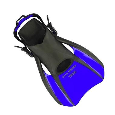 Aqua Lung® U.S. Divers® Trek Travel Fin, Electric Blue, Medium