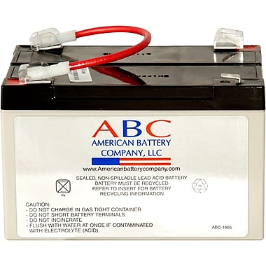 APC RBC3 6 VDC UPS Replacement Battery Cartridge