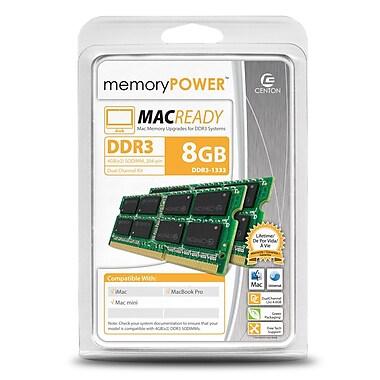 Centon RA1333SO4096K2 8GB (2 x 4GB) DDR3 204-Pin Laptop Memory Module Kit