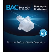 BACTRACK Mobile Breathalyzer Mouthpieces, 50/Pack