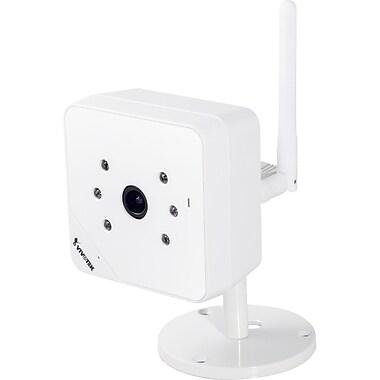 VIVOTEK IP8131W Wireless Cube Day/Night Surveillance Camera, White