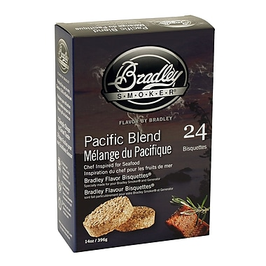 Bradley Smoker™ Smoking Bisquette, Pacific Blend, 24/Pack