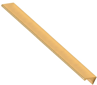 Alno Tap Pull 12'' Center Pull; Polished Brass