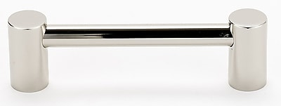 Alno Contemporary I 3 1/2'' Center Bar Pull; Polished Nickel