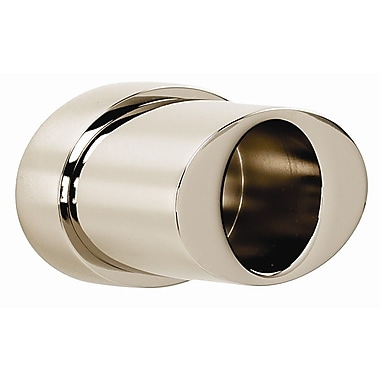 Alno Contemporary III Shower Rod Brackets Only; Satin Nickel