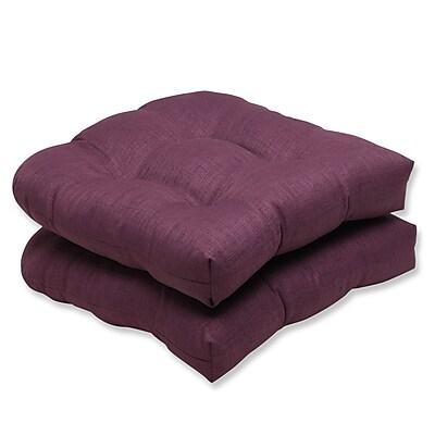 Pillow Perfect Rave Outdoor Loveseat Cushion (Set of 2); Vineyard