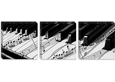 iCanvas 'Piano' Photographic Print on Canvas; 24'' H x 72'' W x 1.5'' D