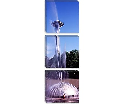 iCanvas Panoramic Space Needle, Seattle, Washington State Photographic Print on Canvas