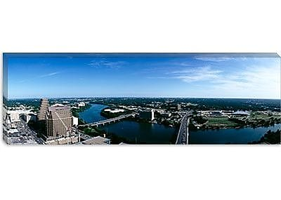 iCanvas Panoramic Austin, Texas Photographic Print on Canvas; 16'' H x 48'' W x 0.75'' D