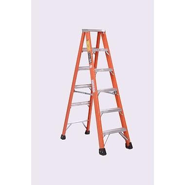 Michigan Ladder 4.15 ft Fiberglass Step Ladder w/ 375 lb. Load Capacity