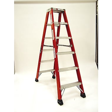 Michigan Ladder 4.1 ft Fiberglass Step Ladder w/ 300 lb. Load Capacity