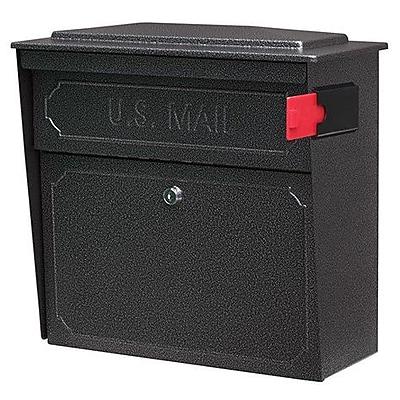 Mail Boss Townhouse Locking Wall Mounted Mailbox; Galaxy