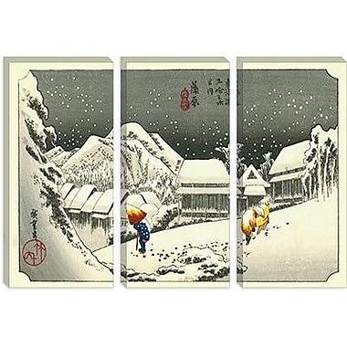 iCanvas Ando Hiroshige 'Kambara' by Utagawa Hiroshige l Painting Print on Canvas