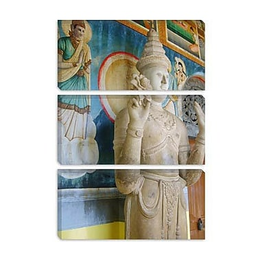 iCanvas Buddhist Statue Photographic Print on Canvas; 40'' H x 26'' W x 0.75'' D