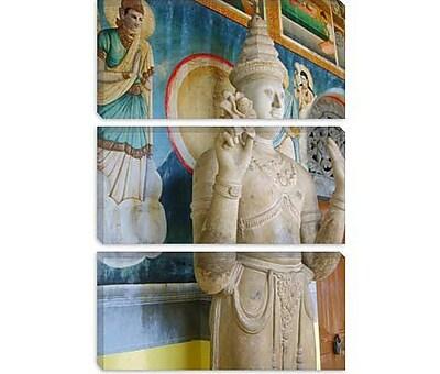 iCanvas Buddhist Statue Photographic Print on Canvas; 40'' H x 26'' W x 1.5'' D