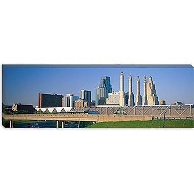 iCanvas Panoramic Bartle Hall Kansas City MO Photographic Print on Canvas; 16'' H x 48'' W x 1.5'' D