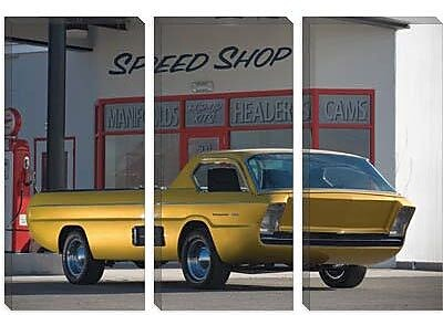 iCanvas Cars and Motorcycles Dodge Pickup Deora 1966 Photographic Print on Canvas
