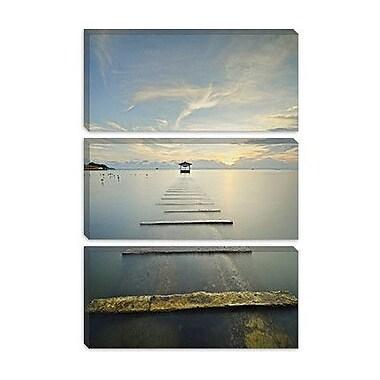 iCanvas 'Ocean Train' by Michael De Guzman Photographic Print on Canvas; 40'' H x 26'' W x 0.75'' D
