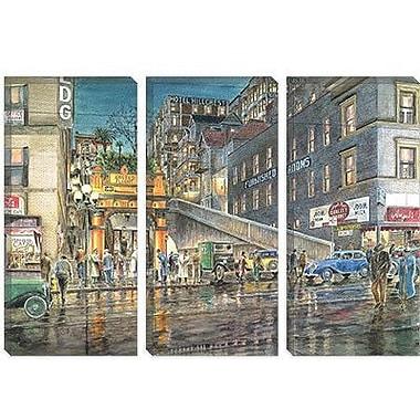 iCanvas 'Flight by Night' by Stanton Manolakas Graphic Art on Canvas; 26'' H x 40'' W x 0.75'' D
