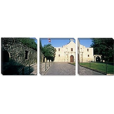 iCanvas Panoramic Building the Alamo, San Antonio, Texas Photographic Print on Canvas