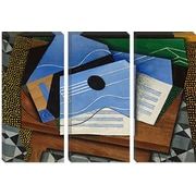 iCanvas 'Guitar on a Table' by Juan Gris Painting Print on Canvas; 40'' H x 60'' W x 1.5'' D