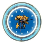 Wave 7 NCAA 14'' Team Neon Wall Clock; Kentucky