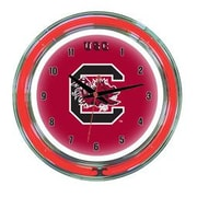 Wave 7 NCAA 14'' Team Neon Wall Clock; South Carolina
