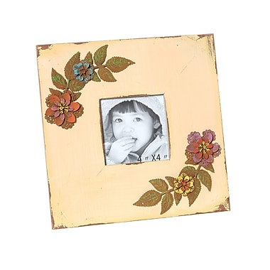 Wilco Home Wood Picture Frame; Cream