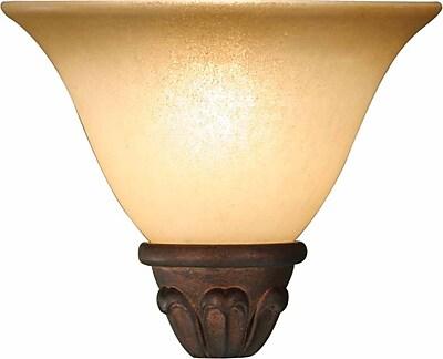 Volume Lighting 8'' Glass Bell Fan Bowl Shade