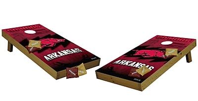 Tailgate Toss NCAA Tailgate Toss Cornhole Set; Arkansas