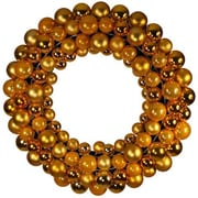 Queens of Christmas Ball 11'' Wreath; Gold