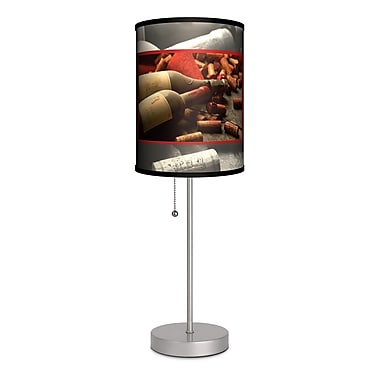 Lamp-In-A-Box Wine Bottles w/ Corks 20'' Table Lamp