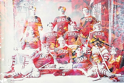 iCanvas Canada Vintage Hockey Team Graphic Art on Wrapped Canvas; 26'' H x 40'' W x 1.5'' D