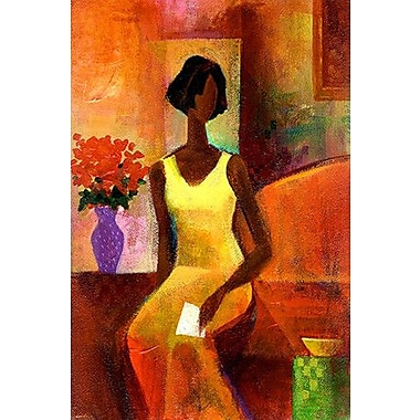 iCanvas ''The Letter'' by Keith Mallett Painting Print on Wrapped Canvas; 60'' H x 40'' W x 1.5'' D