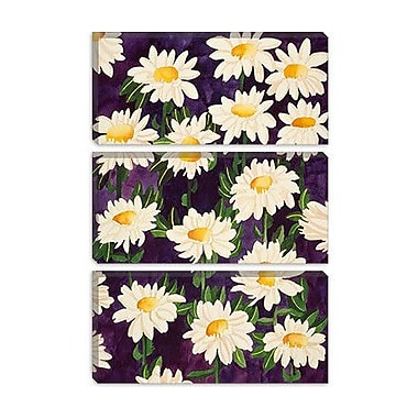 iCanvas ''Shasta Daisies'' Canvas Wall Art by Mary Russell; 18'' H x 12'' W x 1.5'' D