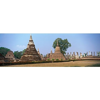 iCanvas Panoramic Sukhothai Historical Park Thailand Photographic Print on Wrapped Canvas