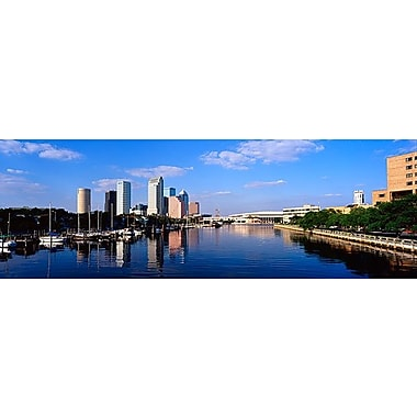 iCanvas Panoramic Tampa, Florida Photographic Print on Wrapped Canvas; 24'' H x 72'' W x 1.5'' D