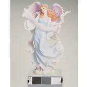 Roman, Inc. Angel w/ Open Scroll Figurine