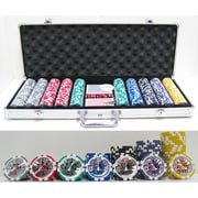 JP Commerce 500 Piece High Roller Clay Poker Chips w/ Laser Effects