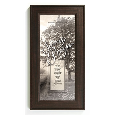 The James Lawrence Company Serenity Prayer Framed Graphic Art