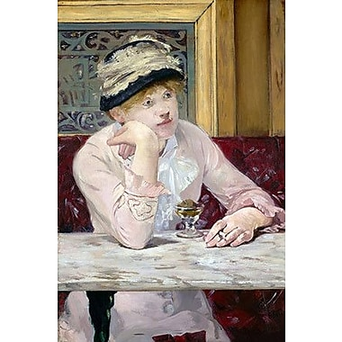 iCanvas 'The Plum (Brandy)' by Edouard Manet Painting Print on Wrapped Canvas