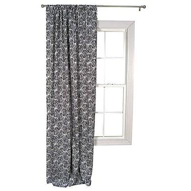 Trend Lab Zahara Zebra Single Curtain Panel
