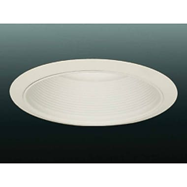 Volume Lighting Baffle 8'' Recessed Trim; White