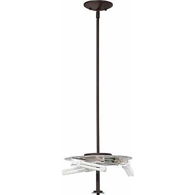 Volume Lighting Esprit 3-Light Mini Pendant; Antique Bronze
