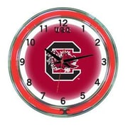 Wave 7 NCAA 18'' Team Neon Wall Clock; South Carolina