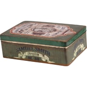 Wilco Home Rectangular Tin Can Metal Box