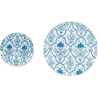 Wilco Home Metal Wall Decor Plates (Set of 2)