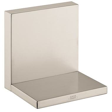 Axor Axor Starck 4.75'' x 4.75'' Surface Mount Medicine Cabinet; Brushed Nickel