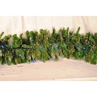 Queens of Christmas Blended Pine Garland; Multi